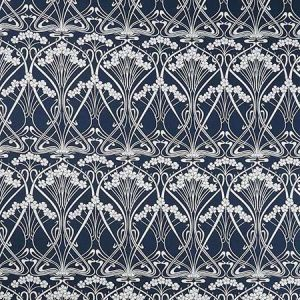 IANTHE BLOOM STEN CL Pewter Fabricut Fabric
