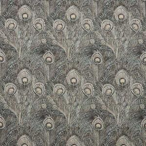 HERA FEATHER VV Pewter Fabricut Fabric