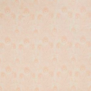 HEBE MARLOW LINEN Pewter Plaster Pink Fabricut Fabric