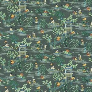 TIAN CHINOISERIE Laurel Stroheim Fabric