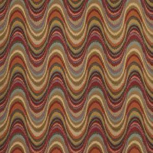 LOS DEL RIO Flame Fabricut Fabric