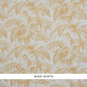 5011480 TOILE TROPIQUE Gold Schumacher Wallpaper