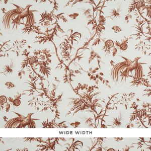 5011712 TOILE DE LA PRAIRIE Brown Schumacher Wallpaper