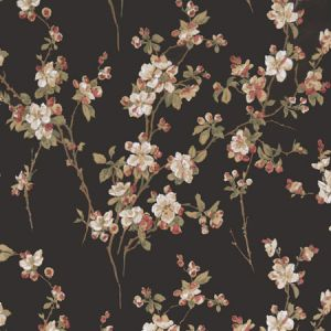 50038W ADELE Midnight 01 Fabricut Wallpaper