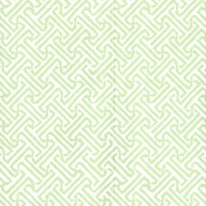 622-27 JAVA PETITE Lime On White Quadrille Wallpaper