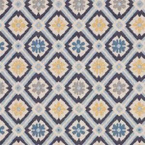 62493 SAVONNERIE TAPESTRY Blue Schumacher Fabric