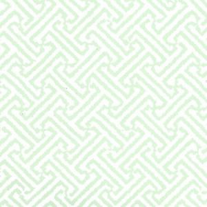 6890WP-03 JAVA JAVA Celadon On White Quadrille Wallpaper
