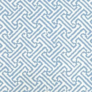 6890WP-16 JAVA JAVA Pacific Blue Almost White Quadrille Wallpaper