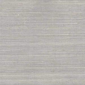 7020-06GC PACIFIC SISAL Silver Quadrille Wallpaper
