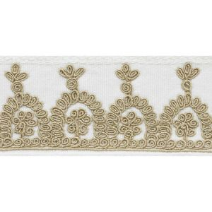 74150 Noelia Tape Ivory Schumacher Trim