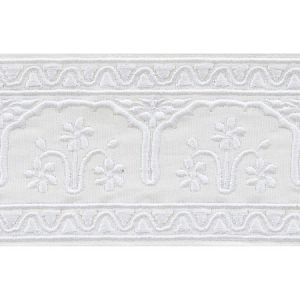74190 Nikola Tape Ivory Schumacher Trim