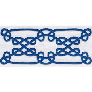 75350 ORMOND TAPE Blue Schumacher Trim