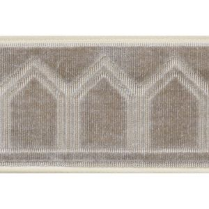 75732 Vizier Tape Moonstone Schumacher Trim