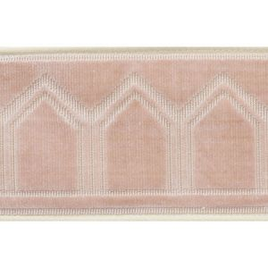 75733 Vizier Tape Blush Schumacher Trim