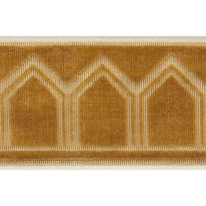 75734 Vizier Tape Gold Schumacher Trim