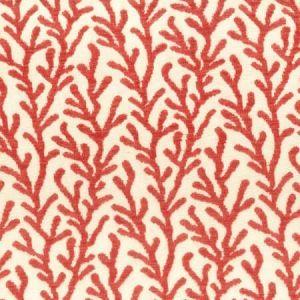 SEA CORAL CHENILLE Stout Fabric
