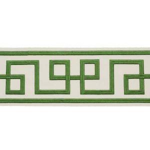 77340 OCTAVIUS TAPE Green Schumacher Trim