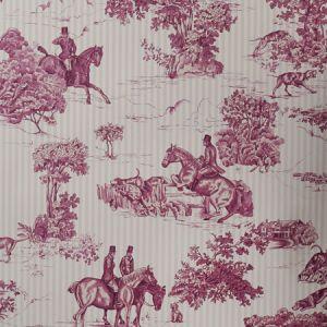 90001W ELWAY HALL Mahogany Celadon 02 Vervain Wallpaper