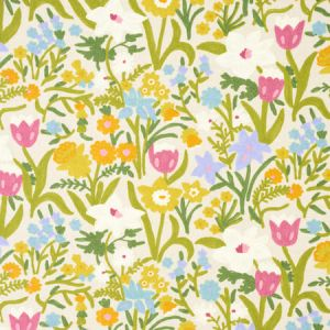 78291 CREWEL GARDEN Multi Schumacher Fabric