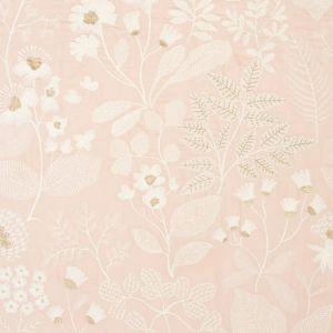 78310 EMALINE EMBROIDERY Blush Schumacher Fabric