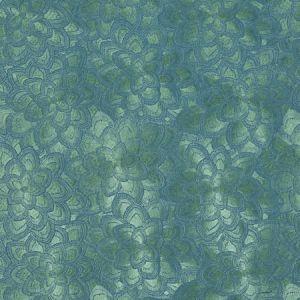 78342 LOTUS EMBROIDERY Jade Schumacher Fabric
