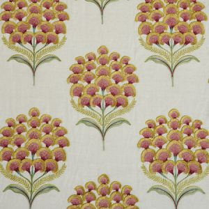78812 AURELIA EMBROIDERY Natural Schumacher Fabric