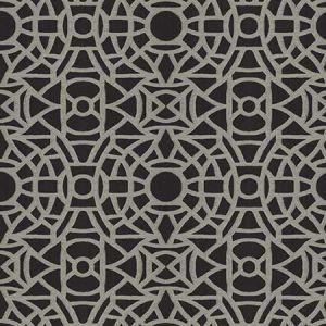 RETENU Noir Fabricut Fabric