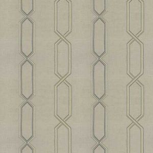 BREVE STRIATION Sea Fabricut Fabric