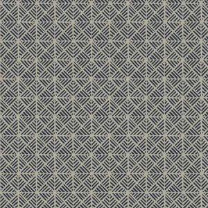 POETICO Indigo Fabricut Fabric