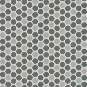 JETE DOTS Smoke Fabricut Fabric