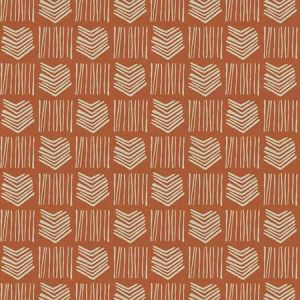 STACCATO Orange Fabricut Fabric