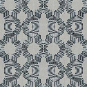 PARITA Navy Fabricut Fabric