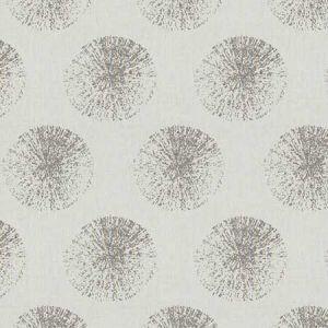 FIREWORKS Grey Fabricut Fabric