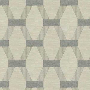 CLAVICHORD Pewter Fabricut Fabric