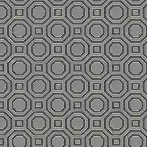 SINFONIA Charcoal Fabricut Fabric