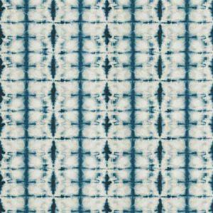 IONIAN Indigo Fabricut Fabric