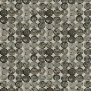DORIAN Charcoal Fabricut Fabric