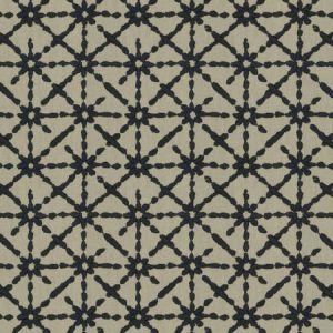 STARRY-EYED Indigo Fabricut Fabric