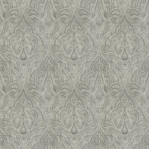 DRYPOINT PAISLEY Silver Fabricut Fabric