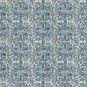 STONY ISLAND Azure Fabricut Fabric