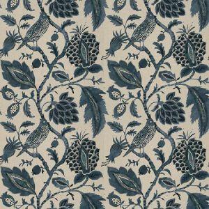 HERMITAGE Indigo Fabricut Fabric