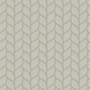TENAFLY LEAF Platinum Fabricut Fabric