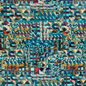 A9 0002AMAZ AMAZINK VELVET Porto Passion Scalamandre Fabric