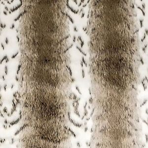 A9 0003 FURR FURRY Faux Linx Greige Scalamandre Fabric