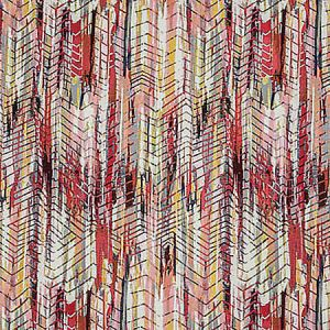 A9 0004 3300 BOHEMIAN Hot Cherry Gold Scalamandre Fabric