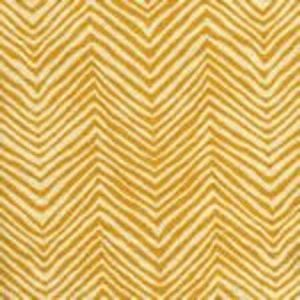 AC303-13 PETITE ZIG ZAG Inca Gold on Tint Quadrille Fabric