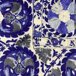 AM100050-516 IZNIK Cobalt Kravet Fabric