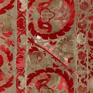 AM100050-916 IZNIK Red Kravet Fabric
