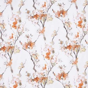 ANOTHER TIME Orange Blossom Carole Fabric
