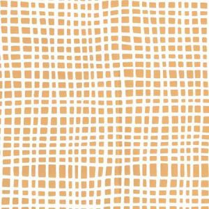 AP403-05 CRISS CROSS Inca Gold On Almost White Quadrille Wallpaper